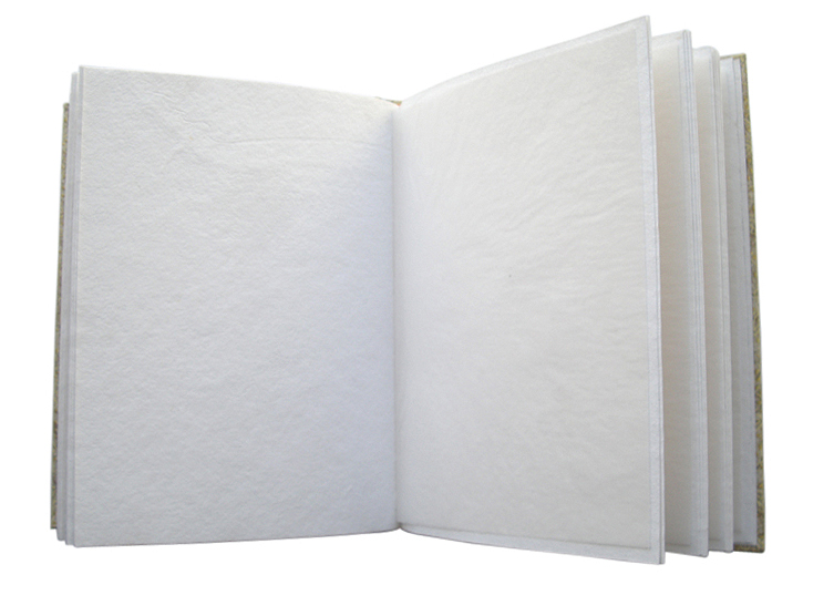 Recycled handmade papers to support photo frame – Camelon